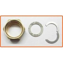 Kit écrou- segment- joint pour onduleux inox