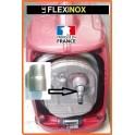 Kit d'adaptation pour flexible inox pour tube 12: manchon acier à souder ou à braser pour groupe EU20i