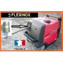 Kit d'adaptation pour flexible inox pour tube 25: manchon acier à souder ou à braser pour groupe EU30i