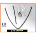 Kit SCENIC II de 2 flexibles inox à colliers DN10 pour prise de pression sur FAP