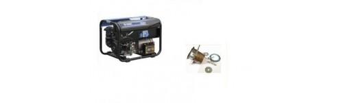 Kit d'adaptation et flexible d'échappement pour SDMO TECHNIC 6500E et 6500E AVR nouveau modèle
