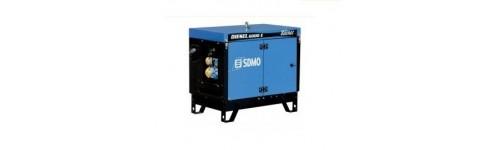 Flexible d'échappement pour groupe électrogène SDMO DIESEL 6000E Silence