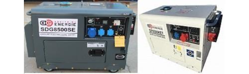 Echappement flexible pour groupes électrogènes AQUITAINE ENERGIE