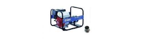 Kit d'adaptation et flexible d'échappement pour SDMO HX 4000