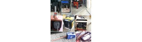 Echappement inox flexible avec colliers par marque et par référence de groupe électrogène